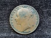Victoria, Young Head Farthing 1857, AF, AD399